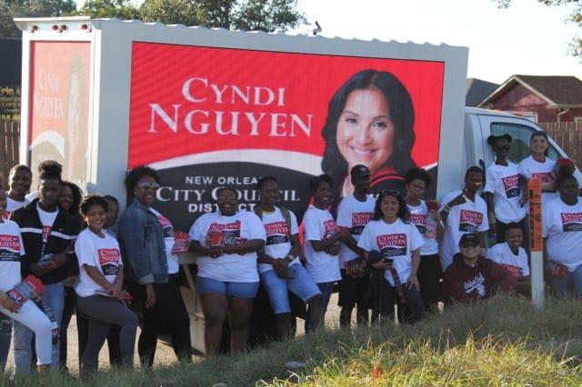 Nhà hoạt động Cyndi Nguyễn trở thành người gốc Á đầu tiên đắc cử nghị viên New Orleans