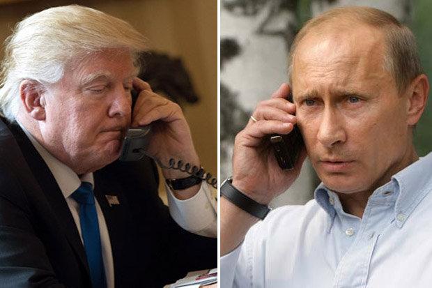Putin và Trump điện đàm tình hình Bắc Hàn & Syria