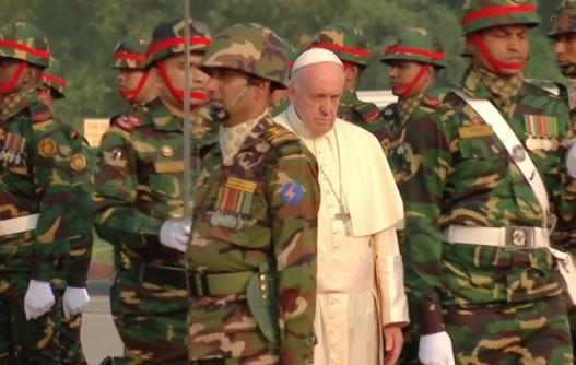 Đức Giáo Hoàng Francis thúc giục giải quyết cuộc khủng hoảng người tị nạn Rohingya