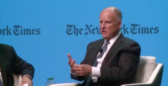 Thống đốc Jerry Brown cho biết California sẽ đóng vai trò lãnh đạo trong cuộc chiến chống biến đổi khí hậu