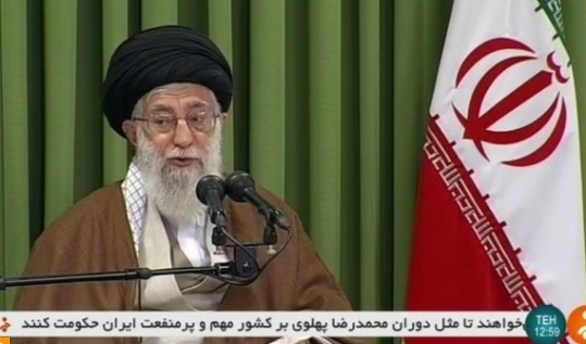 Lãnh tụ tối cao Khamenei coi Hoa Kỳ là kẻ thù số một của Iran