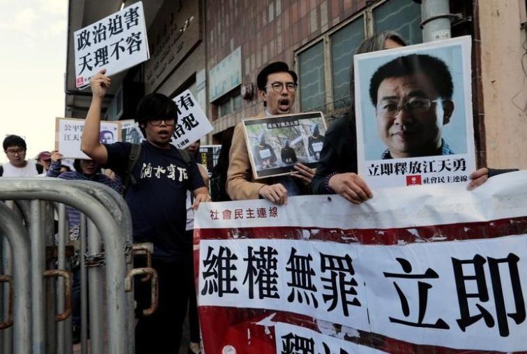 Luật sư nhân quyền bị Trung Cộng tuyên án 2 năm tù vì tội lật đổ chính quyền
