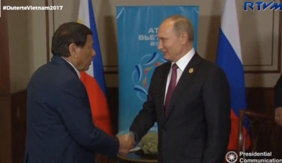 Tổng thống Duterte: chính phủ Phi Luật Tân sẵn sàng mua vũ khí Nga