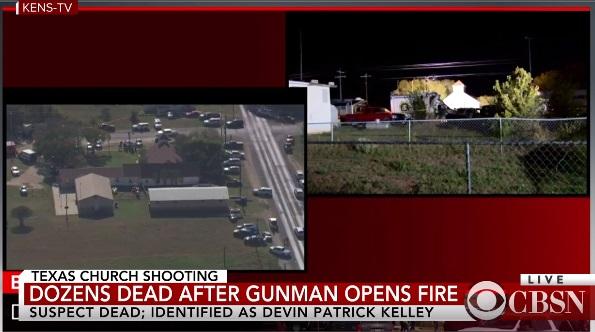 Xả súng trong nhà thờ ở Texas, ít nhất 26 người chết bao gồm hung thủ