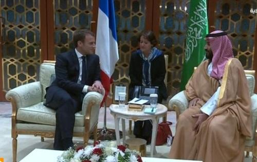 Tổng thống Pháp công du Saudi Arabia, thảo luận về tình hình Lebanon
