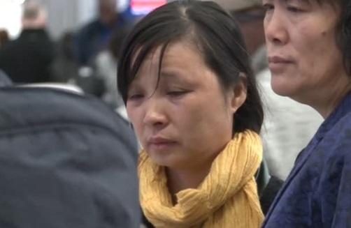 Gia đình sinh viên Zhang Yingying trở về Trung Cộng