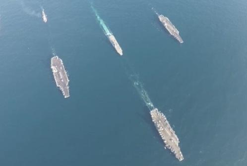 Nhật và Hoa Kỳ mở cuộc tập trận chung dài 10 ngày