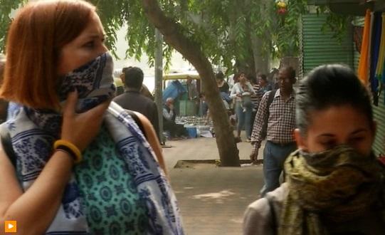 Du khách vội vã rời thủ đô New Delhi vì ô nhiễm không khí