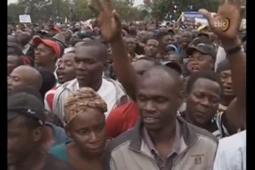 Đảng cầm quyền Zimbabwe tổ chức biểu tình đòi tổng thống Mugabe từ chức