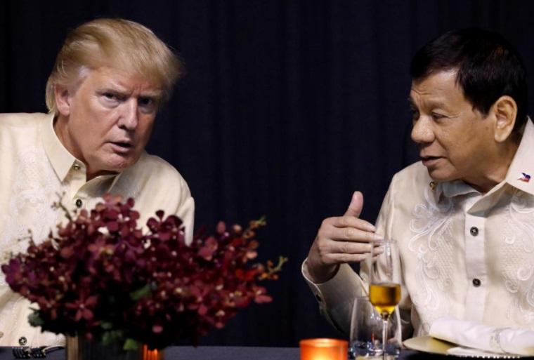 Tổng thống Trump không bàn về nhân quyền và chiến dịch chống ma túy với tổng thống  Duterte