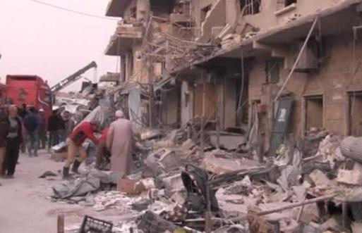 53 người chết trong vụ không kích Bắc Syria, nghi do máy bay của Nga thực hiện