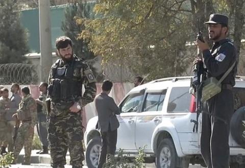 Đài TV ở thủ đô Afghanistan bị tấn công