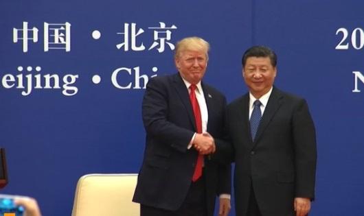 Tổng thống Trump thảo luận với Tập Cận Bình về sự mất cân bằng thương mại và Bắc Hàn