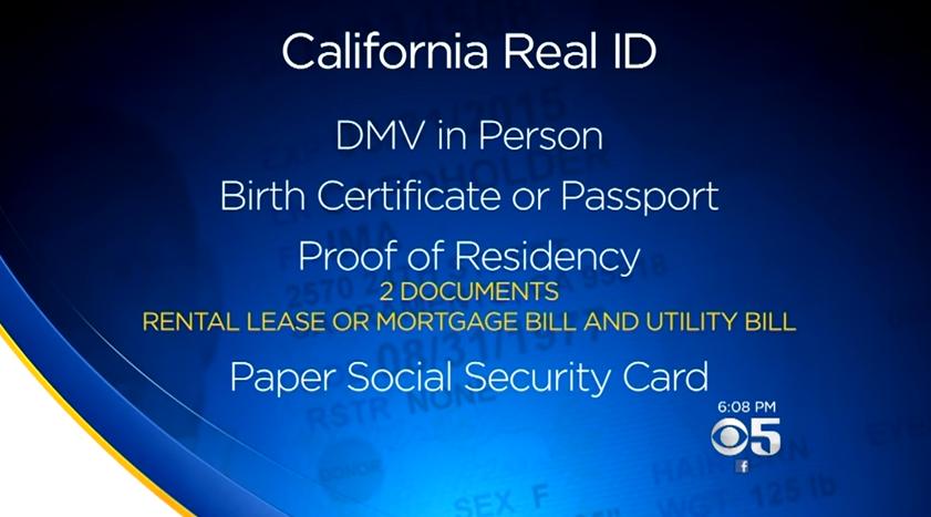 Real ID tác động đến người dân California như thế nào?