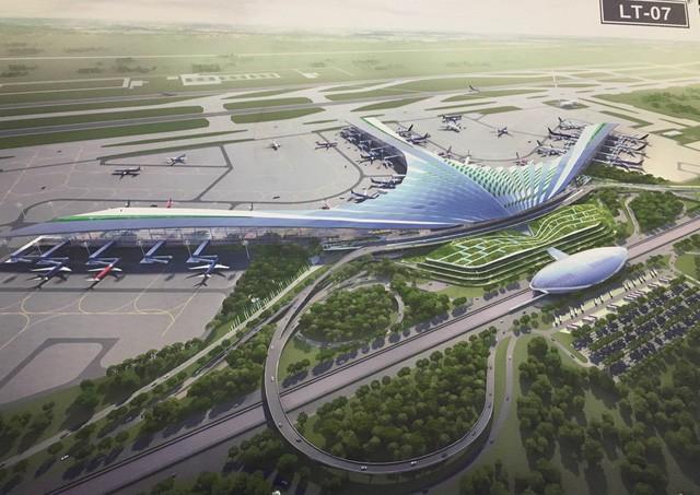 Đổi thiết kế phi trường Long Thành từ hoa sen thành lá cọ vì thiếu tiền