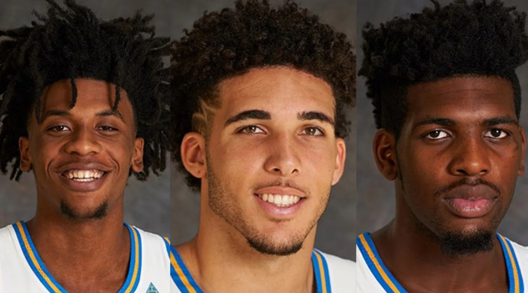 Ba cầu thủ bóng rổ UCLA bị giữ lại ở Trung Cộng trong khi đội trở về Hoa Kỳ