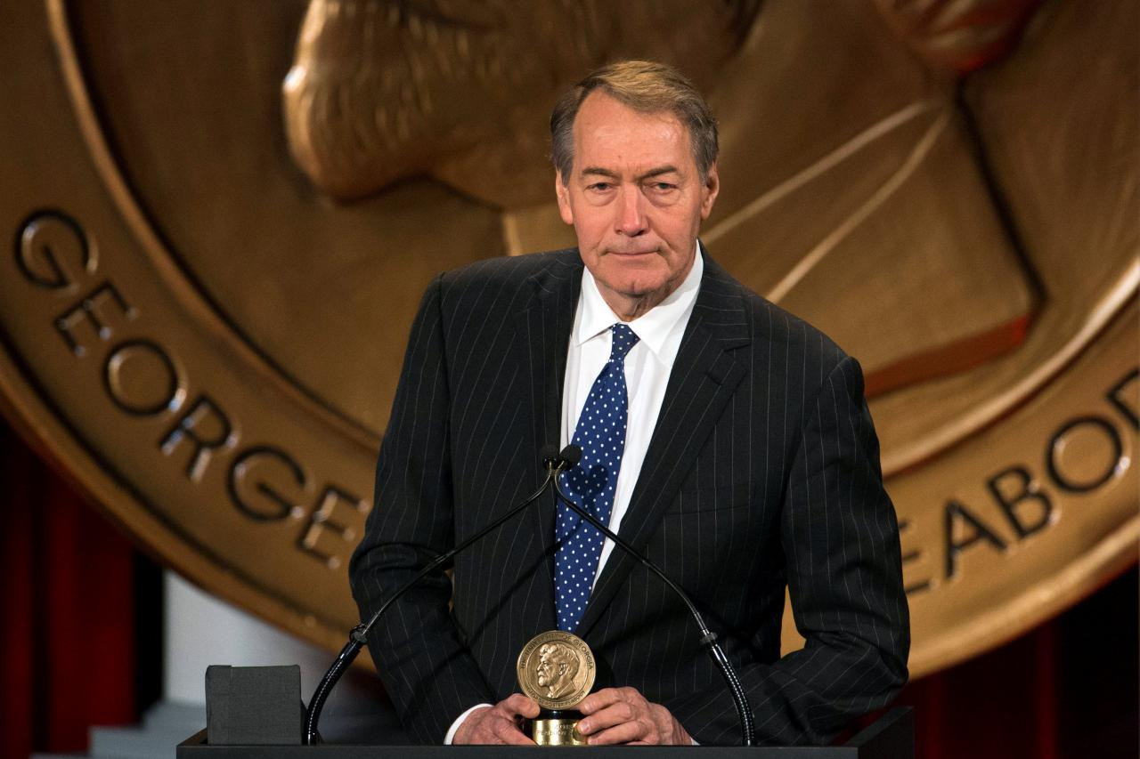 CBS News tạm ngưng việc ký giả kỳ cựu Charlie Rose do cáo buộc tình dục sai trái