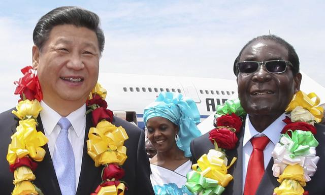 Việc tổng thống Robert Mugabe từ chức sẽ khiến Zimbabwe càng thân cận với Trung Cộng