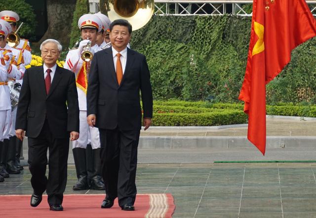CSVN tiếp đón Tập Cận Bình tại Hà Nội