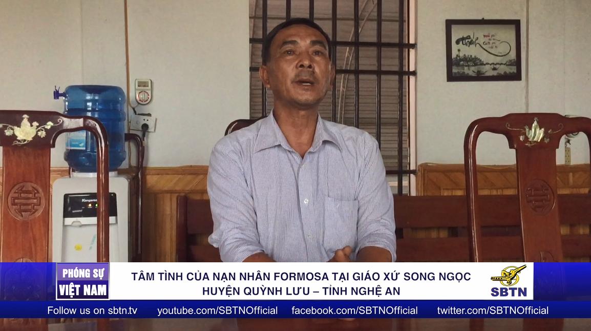 Tâm tình của nạn nhân Formosa tại giáo xứ Song Ngọc ở huyện Quỳnh Lưu – tỉnh Nghệ An