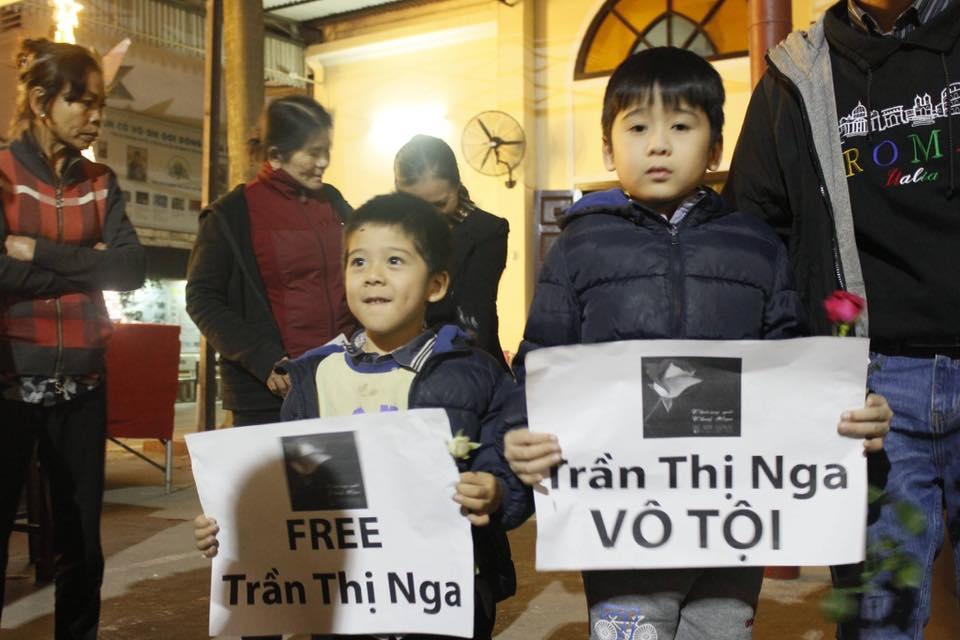Nhà thờ Thái Hà tổ chức thánh lễ Công Lý Hoà Bình cầu nguyện cho tù nhân lương tâm