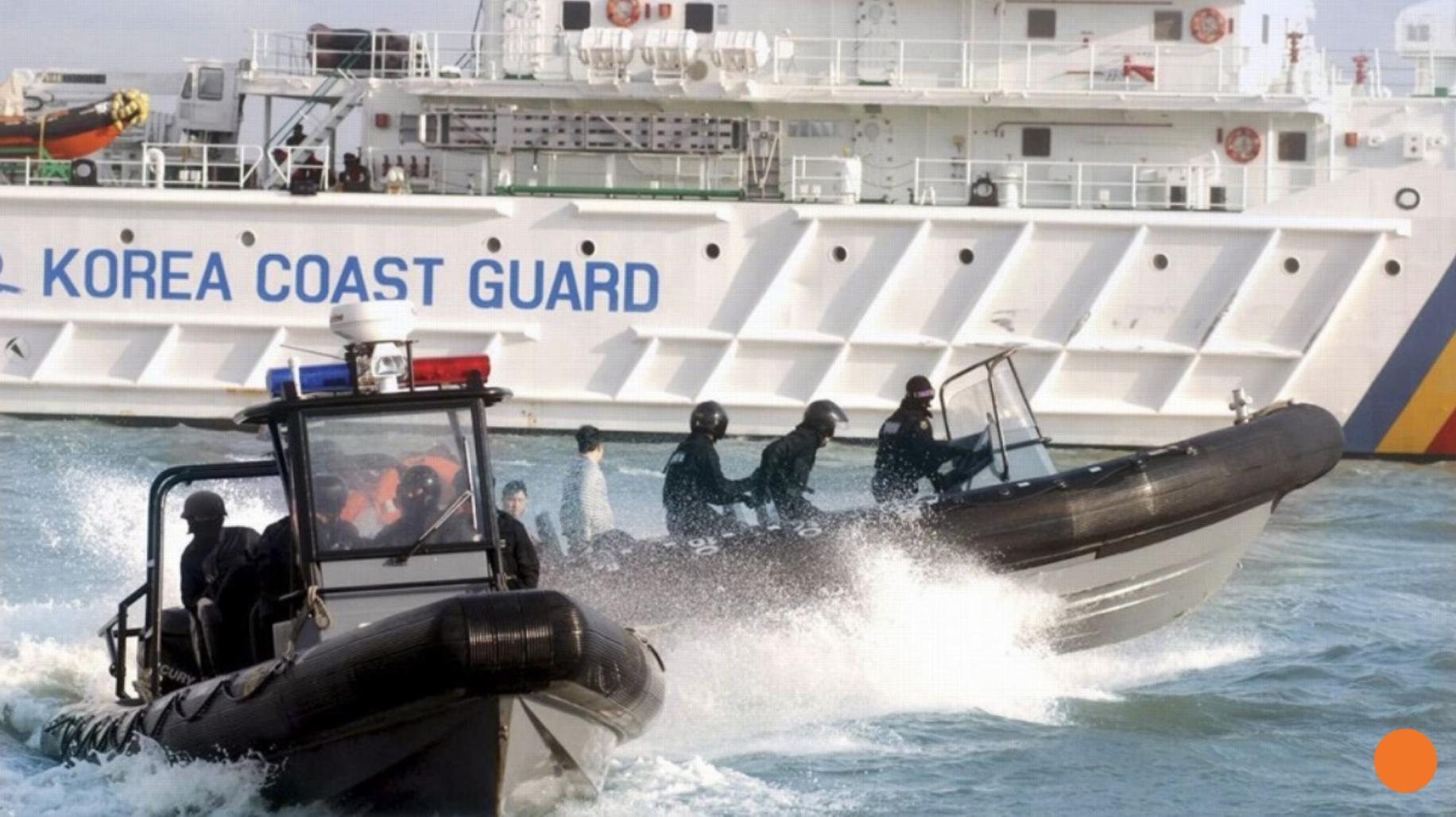 Nam Hàn bắn 249 phát súng cảnh cáo tàu cá Trung Cộng