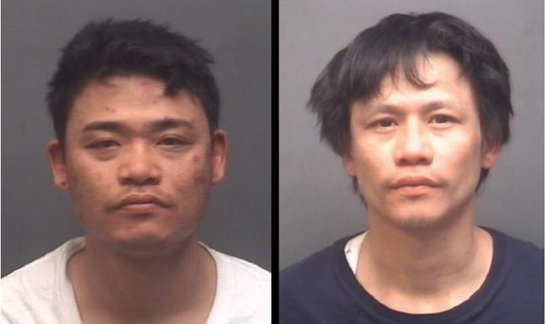 Cảnh sát North Carolina bắt 2 nghi can gốc Việt đi Mercedes trộm hàng chục tiệm nail