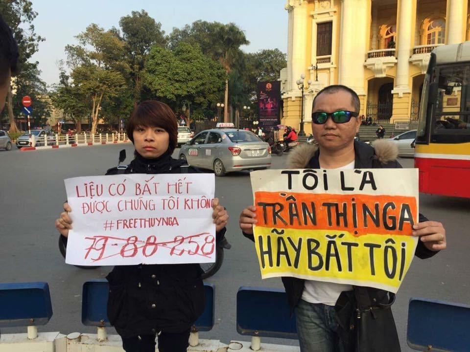Hàng trăm người ký kháng thư phản đối bản án dành cho tù nhân lương tâm Trần Thị Nga