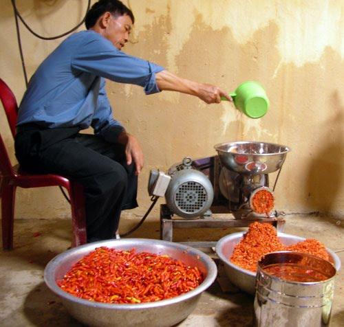 100% mẫu ớt bột trên thị trường Việt Nam chứa chất gây ung thư