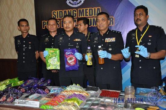 Cảnh sát Mã Lai bắt giữ 3 phụ nữ Việt thu giữ nhiều ma túy