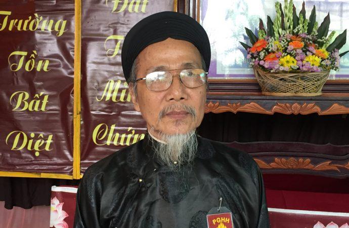 Nhà cầm quyền Đồng Tháp đe dọa bắt giữ lãnh đạo Phật Giáo Hòa Hảo