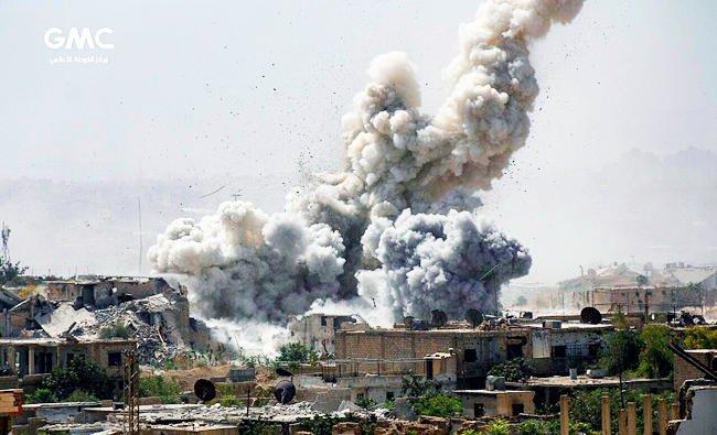 Quân đội Syria được Iran yểm trợ tiến sâu vào vùng của quân nổi dậy