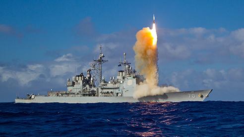 Hải quân Hoa Kỳ tăng cường chiến hạm ở Á Châu