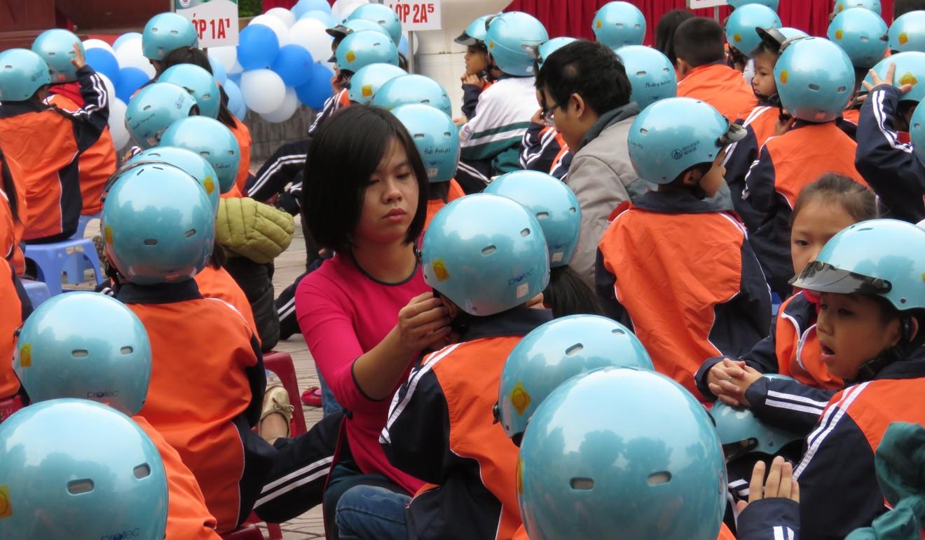 80% mũ bảo hiểm ở Việt Nam không an toàn