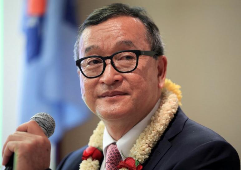 Tòa án Cambodia phạt lãnh đạo đối lập lưu vong 1 triệu Mỹ kim vì tội phỉ báng