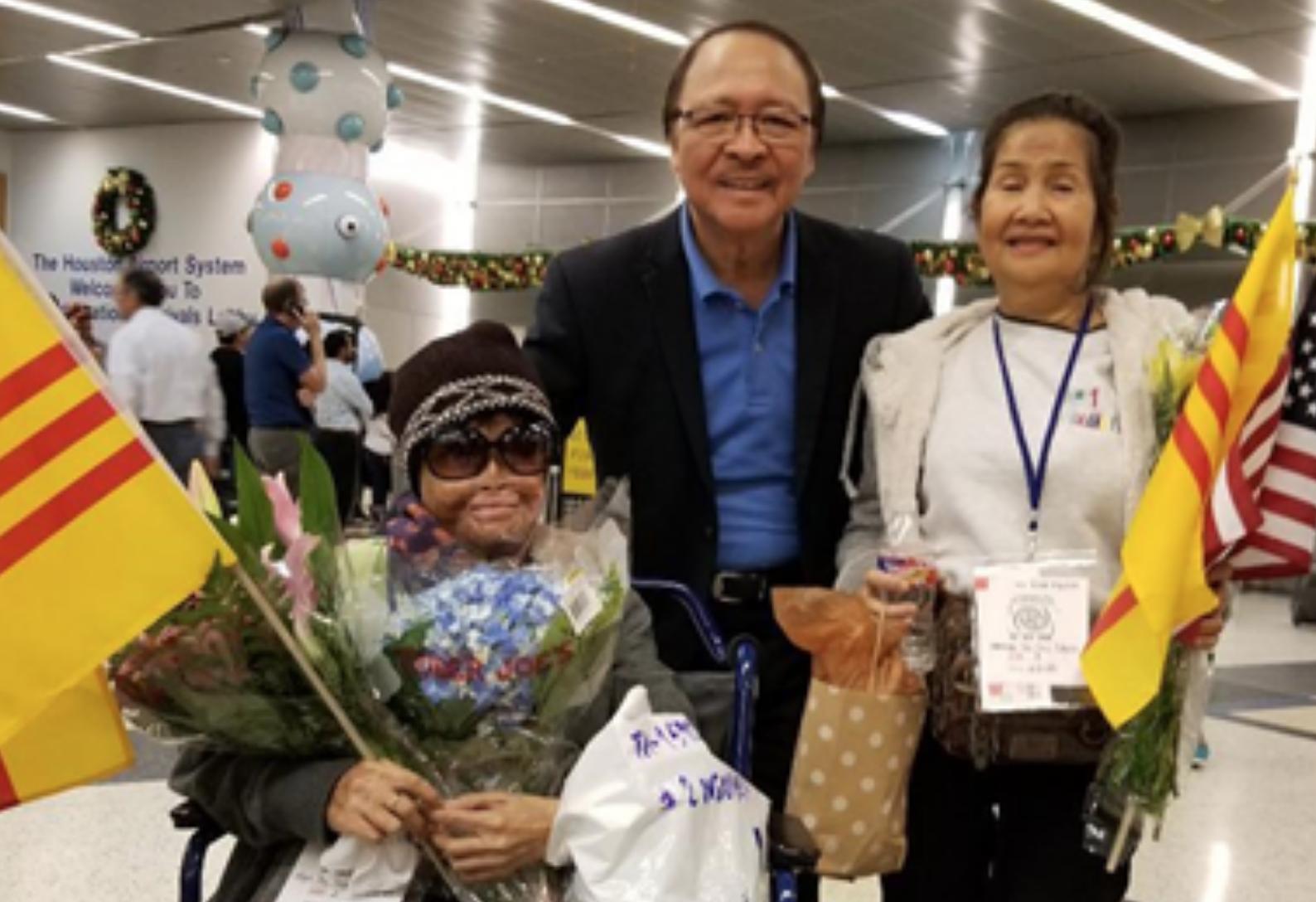"""Người tị nạn """"khổ nhất Việt Nam"""" đến Houston"""
