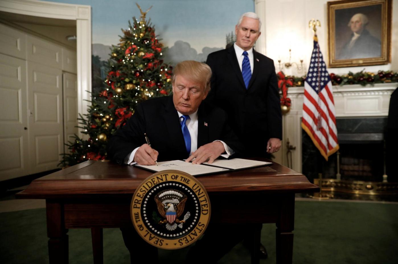 Tổng thống Trump thông báo Hoa Kỳ công nhận Jerusalem là thủ đô Israel