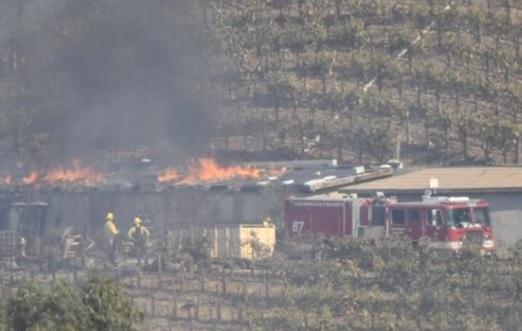 Cháy rừng  Los Angeles thiêu rụi một tòa nhà của tỷ phú Rupert Murdoch