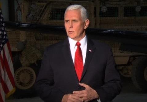 Phó Tổng Thống Mike Pence bất ngờ tới thăm binh sĩ Mỹ ở Afghanistan