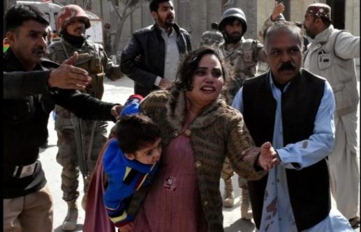 8 người chết vì nổ bom cảm tử ở nhà thờ Tin Lành Pakistan