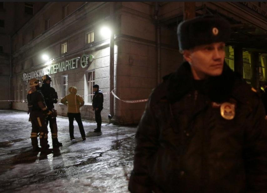 ISIS nhận trách nhiệm vụ đánh bom ở siêu thị Saint Petersburg