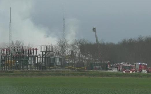 Nổ trạm khí đốt lớn ở Áo