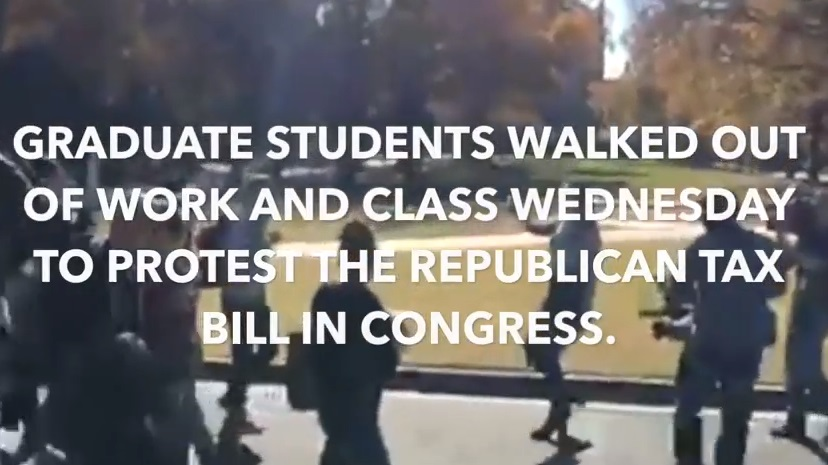 31 dân biểu Cộng Hòa hạ viện ủng hộ cuộc biểu tình chống dự luật thuế của sinh viên cấp cao học