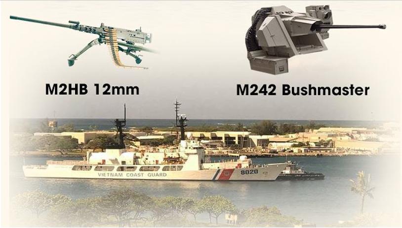 CSVN nhận tàu tuần duyên do Hoa Kỳ tặng
