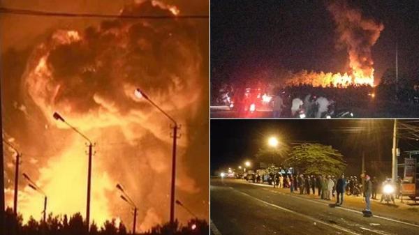 Kho đạn của quân đội CSVN ở Gia Lai phát nổ trong đêm