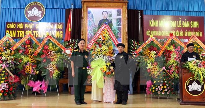 CSVN dành độc quyền cử hành lễ Đản Sanh Đức Huỳnh Giáo Chủ cho mặt trận tổ quốc