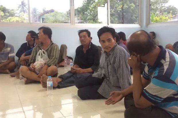 Thái Lan bắt giữ 4 tàu cá và 30 ngư dân Việt Nam