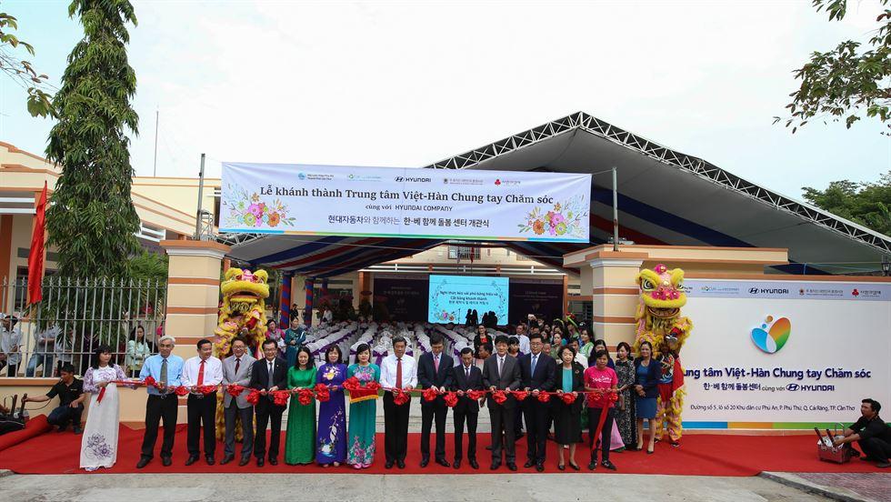 Hyundai mở trung tâm hỗ trợ cô dâu Việt ly dị hồi hương ở Cần Thơ