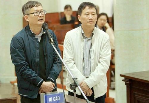 Tạm hoãn phiên tòa xử Trịnh Xuân Thanh và em trai Đinh La Thăng