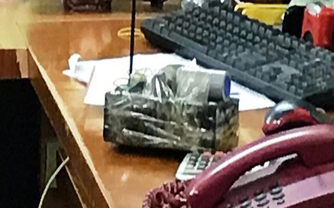 Cầm bom giả đi cướp ngân hàng ở Bắc Giang